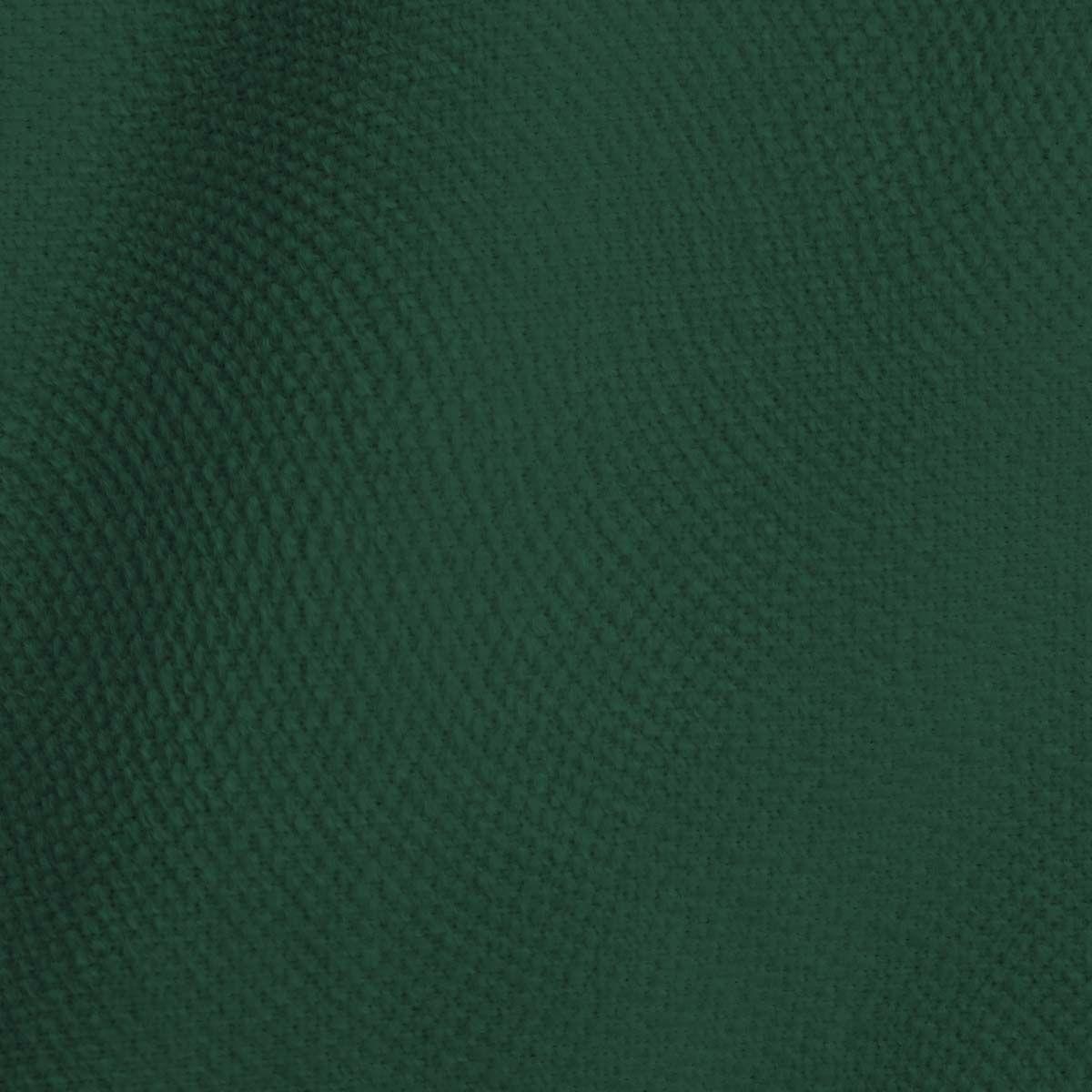 Rideau en velours vert sapin Leros 140x260cm
