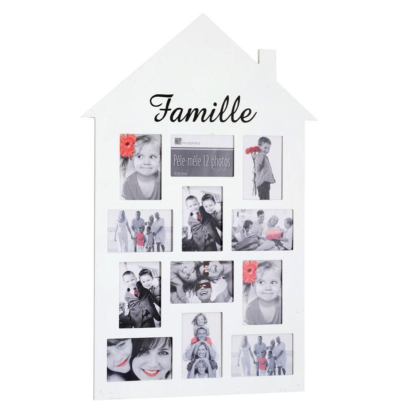 Pêle-mêle Family 12 photos blanc