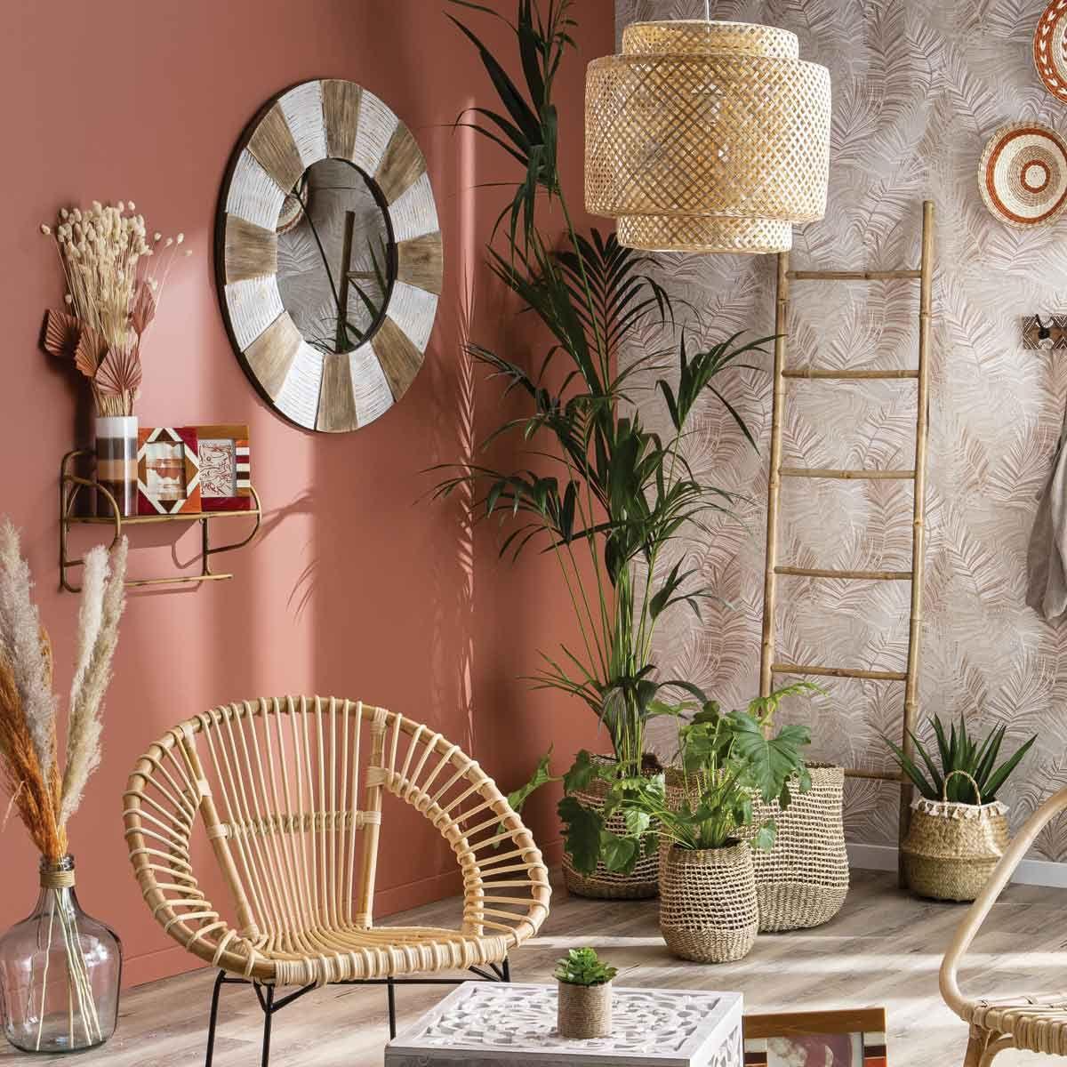 Peinture rouge terracotta velours multi supports Nuanza