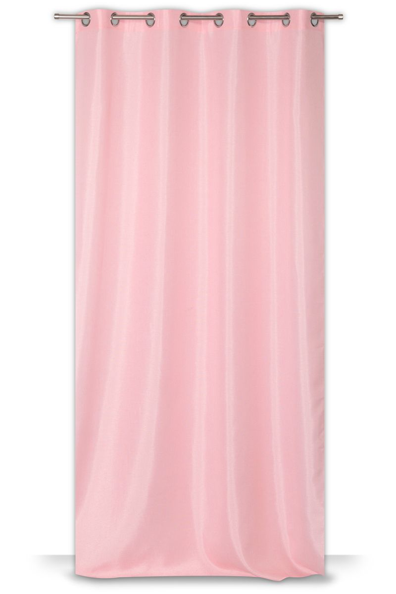 Rideau Jalacas rose poudre 140x260cm