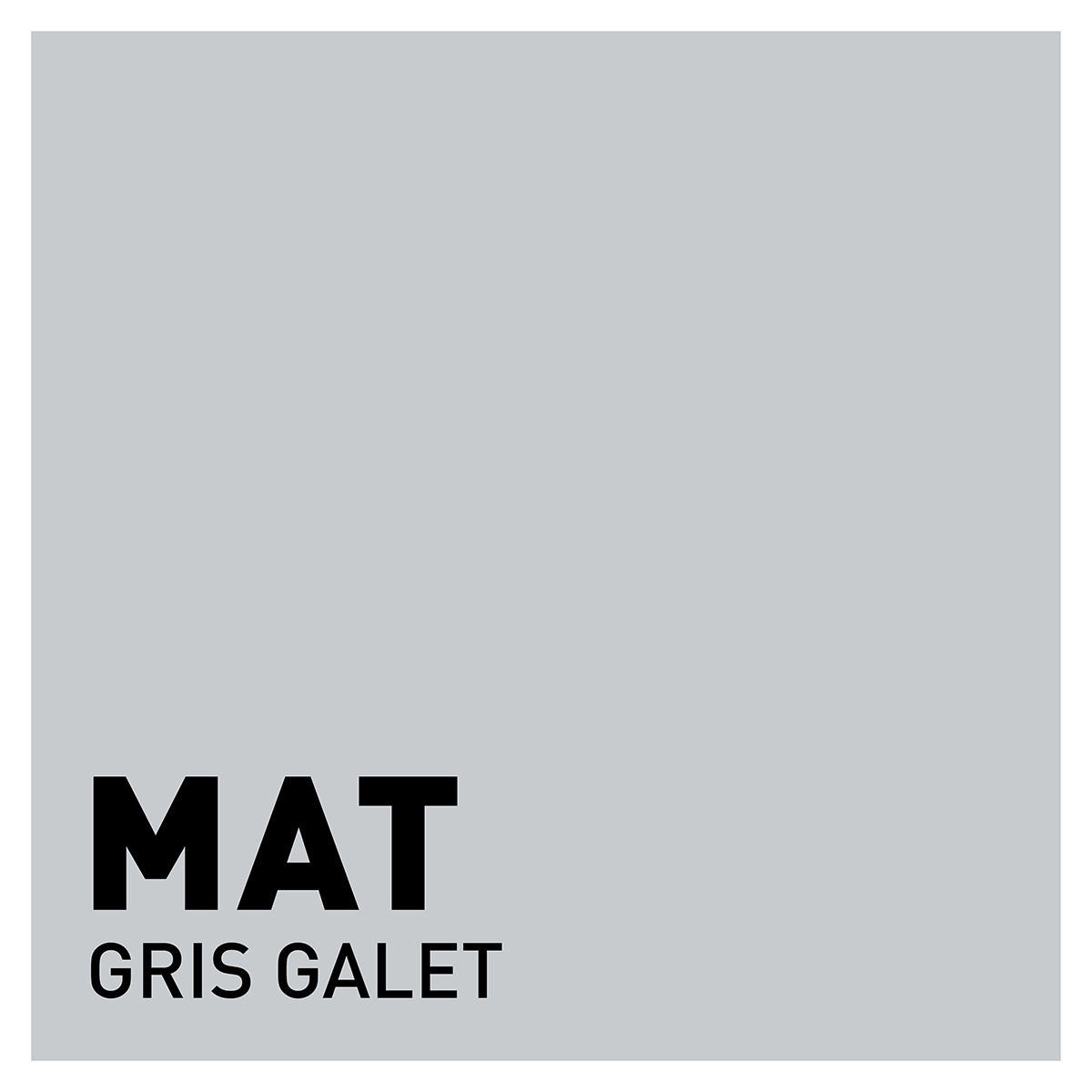 Peinture gris galet mat 20 minutes chrono Renaulac