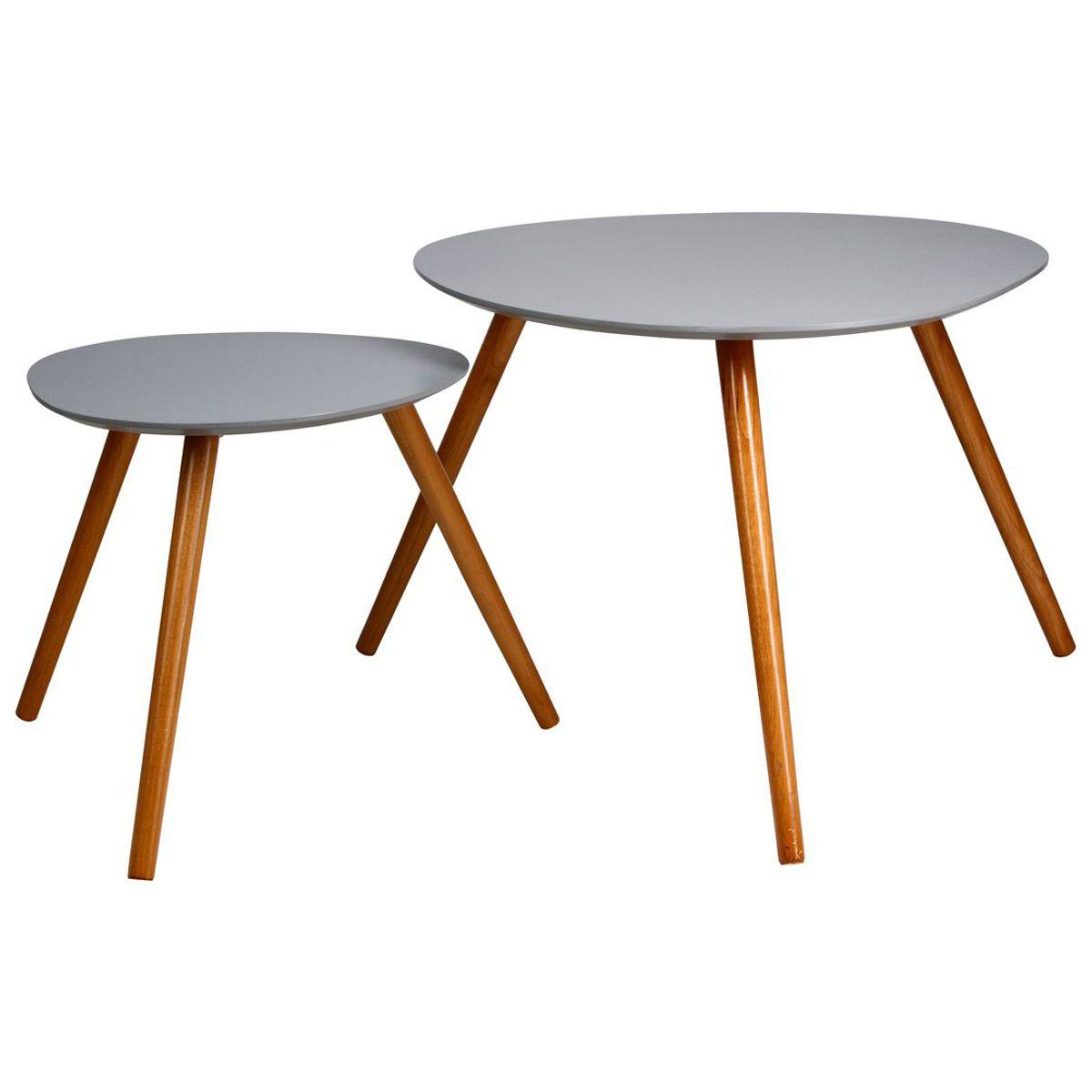 Lot 2 tables a cafe mileo souris