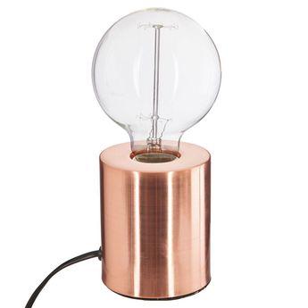 Lampe Ampoule Cuivre Cylindre Poser À J5l1TF3uKc