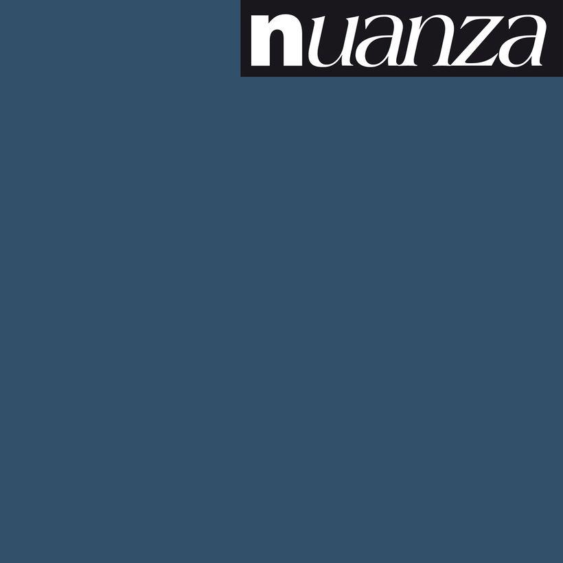 Peinture bleu nuit satin multisupports Nuanza 2.5l