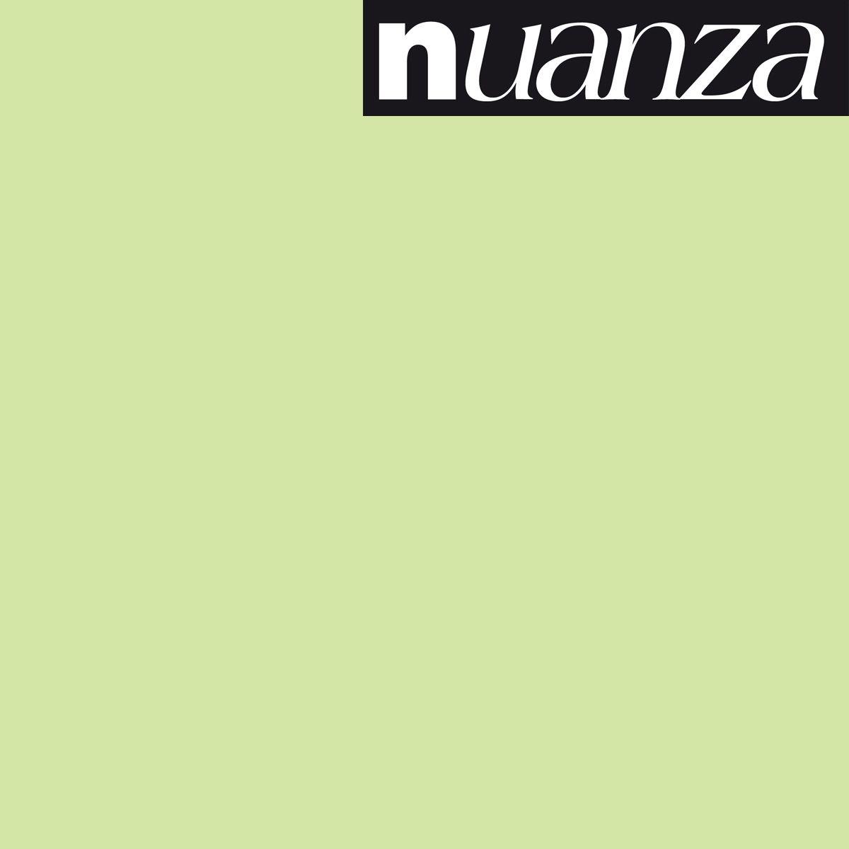 Peinture Nuanza satin monocouche amandine 0.5l
