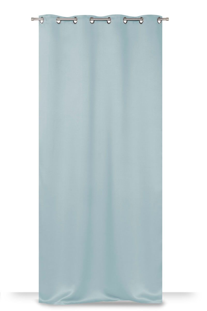 Rideau occultant bleu clair Stoplight 135x240 cm