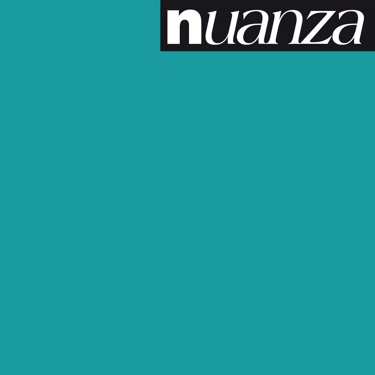 Peinture Nuanza satin monocouche bleu lagon 0.5l