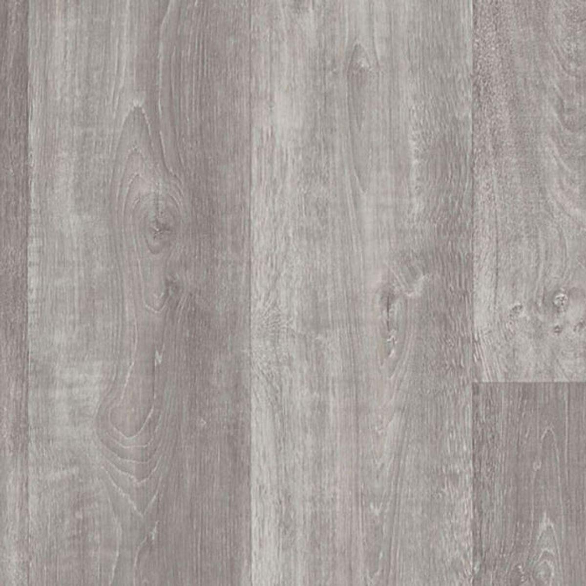 Sol vinyle lame gris cérusé Rovigo 10cm