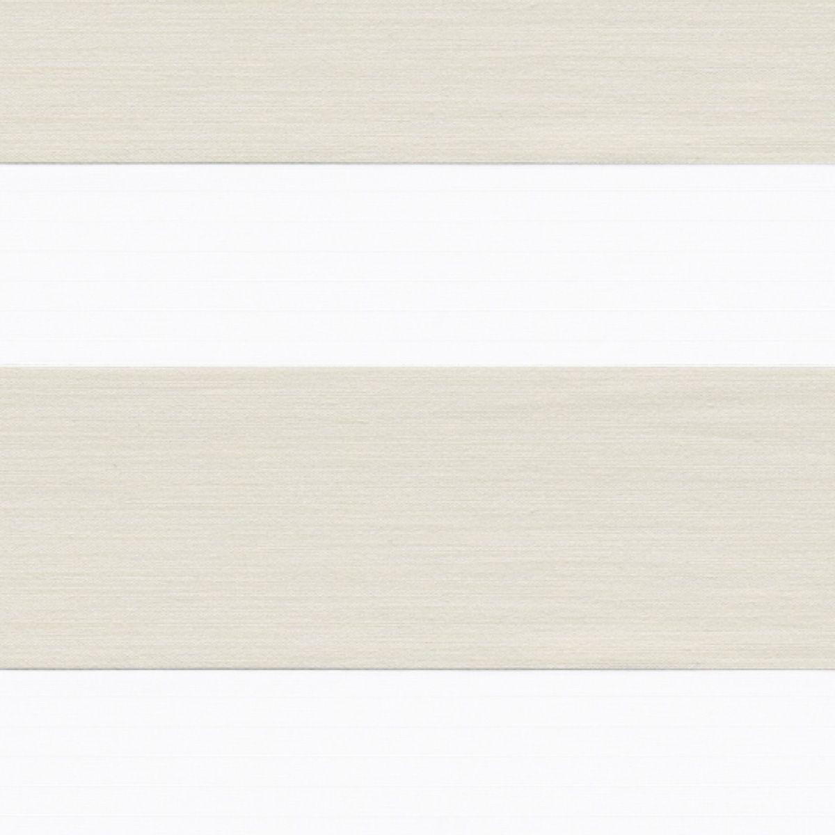 Store jour-nuit métallisé Kov blanc 52x250cm