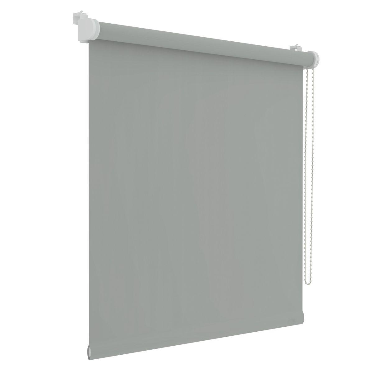 Store enrouleur occultant Dalvik gris clair 52x250cm