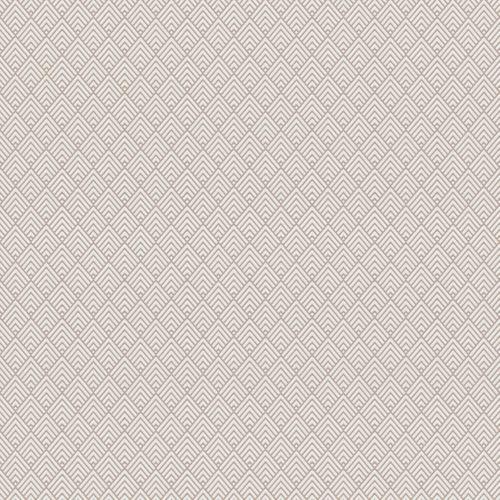Papier Peint Geometrique Rose Pale Glosh Intisse Kalico