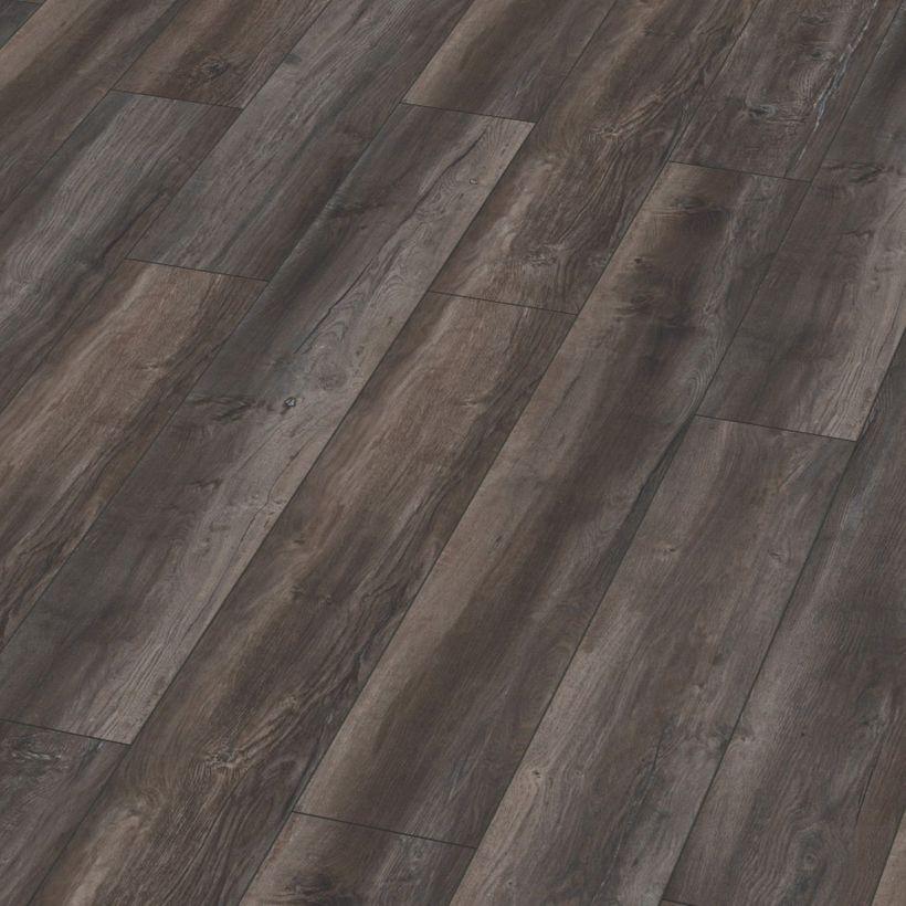 Parquet stratifié chêne brun grisé 12mm Toronto