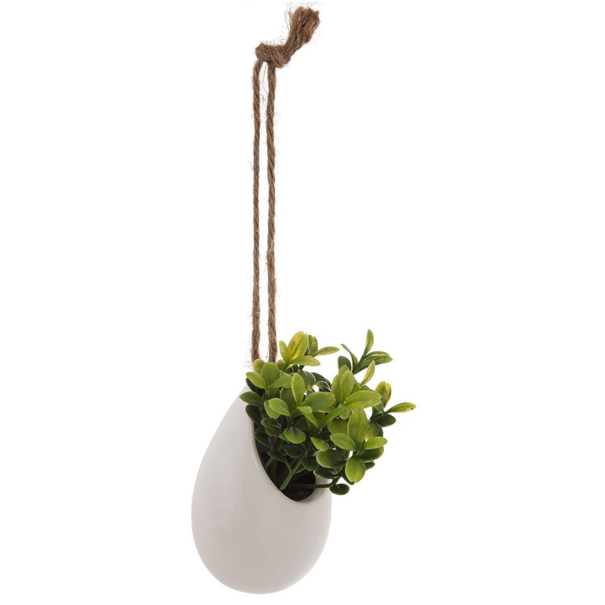 Plante artificielle sur corde à suspendre