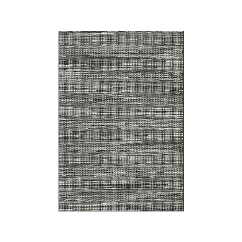 Tapis tissé plat gris Mont Blanc 120x170 cm