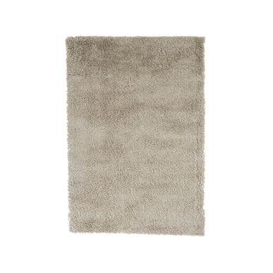 tapis shaggy blanc nuage softy 120x170 cm | kalico