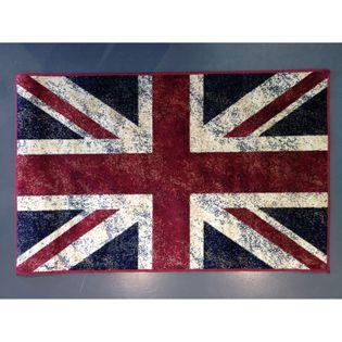 Tapis Drapeau Anglais Union Jack 67x105 Cm Kalico