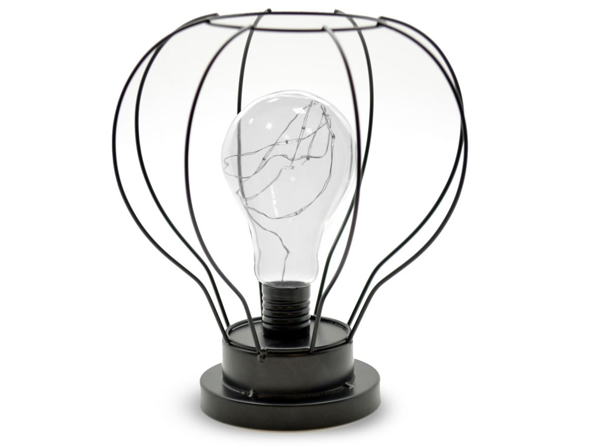 Lampe led metalica forme ampoule