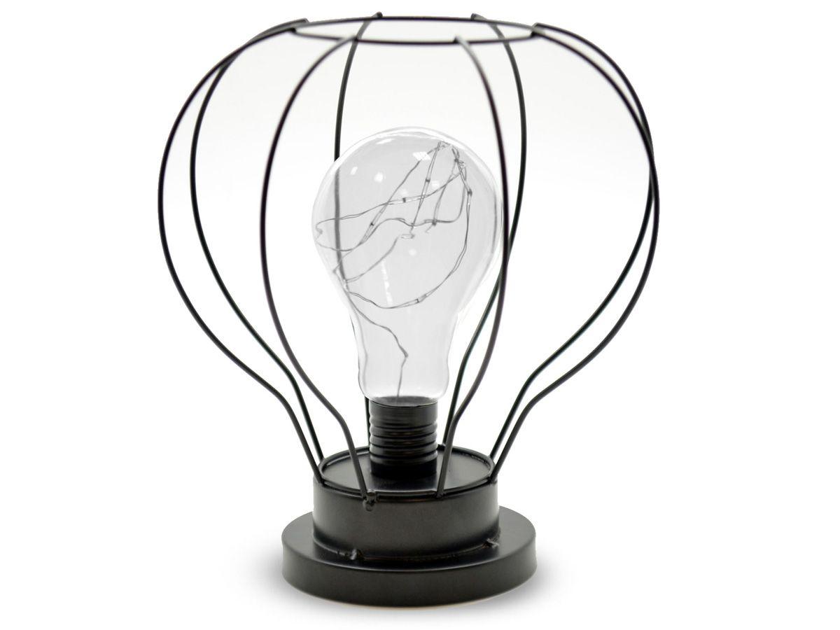 Lampe led metalica forme ampoule