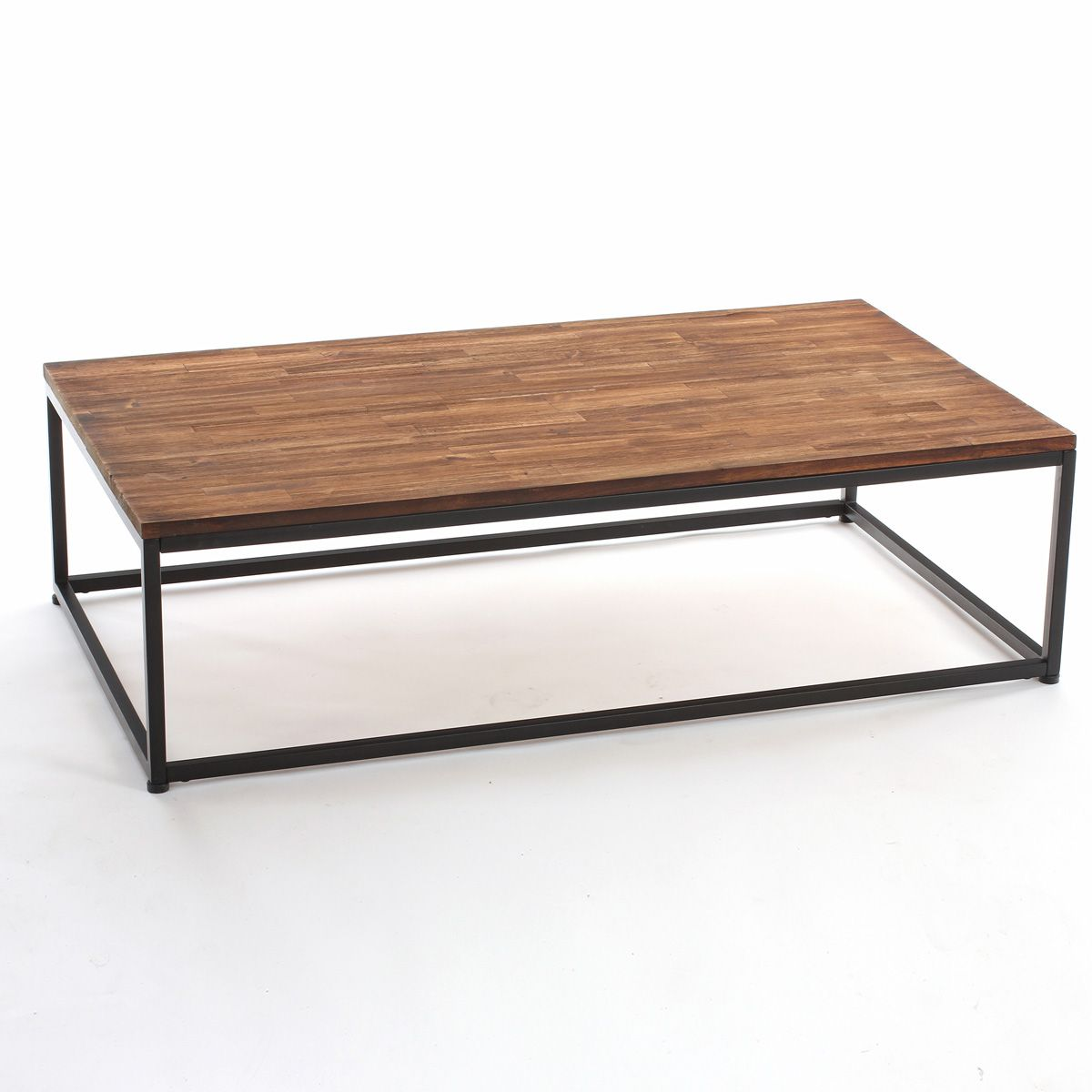 Table basse vintage taupe
