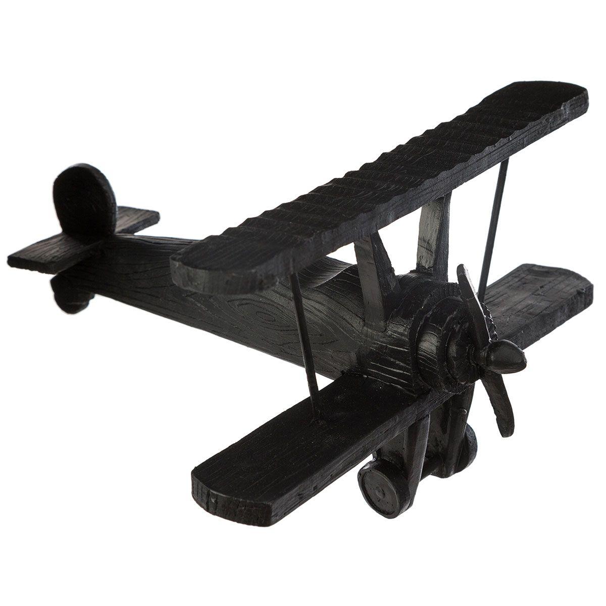 Avion noir à poser