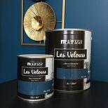 Peinture velours monocouche Bleu Cobalt 2l
