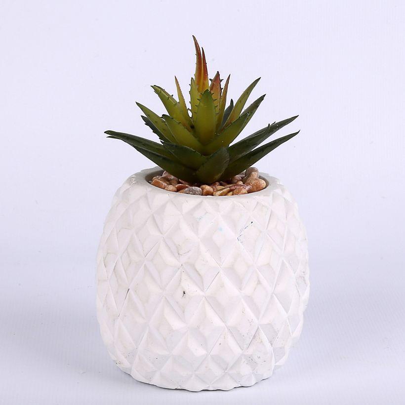 Plante artificielle succulente ananas